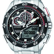 Citizen-Herren-Armbanduhr-Promaster-Land-Analog-Digital-Quarz-Edelstahl-JW0124-53E-0