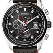 Citizen-Herren-Armbanduhr-XL-Analog-Quarz-Edelstahl-AT9036-08E-0